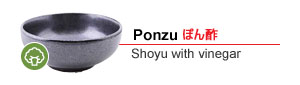 Ponzu - Shoyu with vinegar